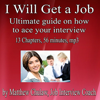 cover of I Will Get a Job, a bonus material